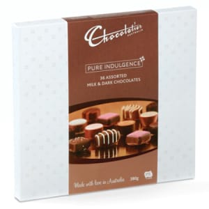 chocolatier chocolates 380g