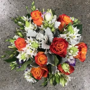 Burnt Orange Posy